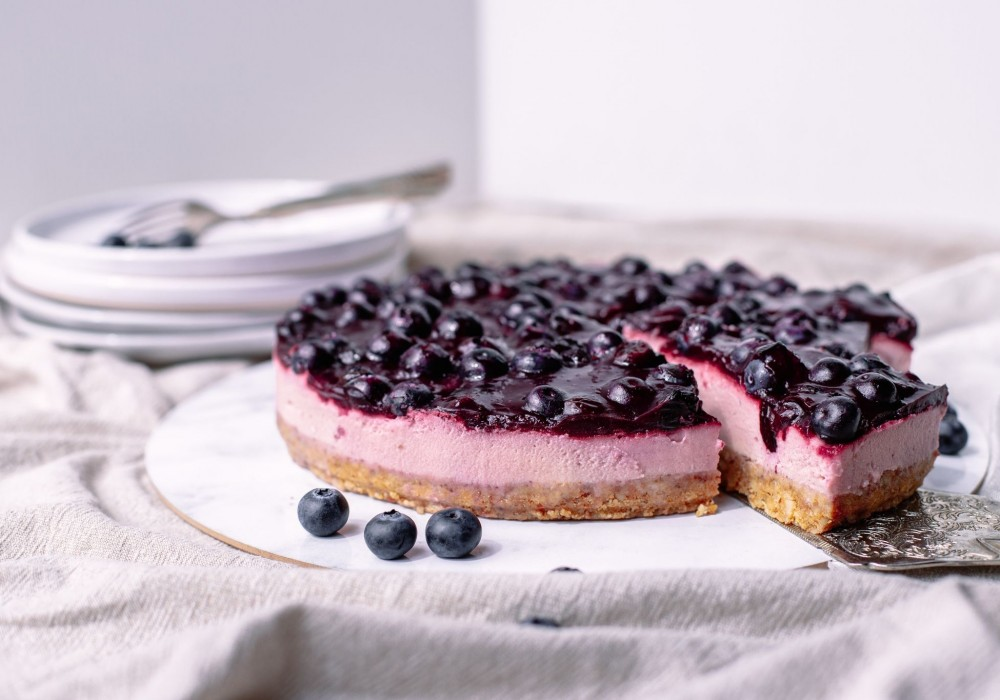 Blueberry & Lemon Cheesecake